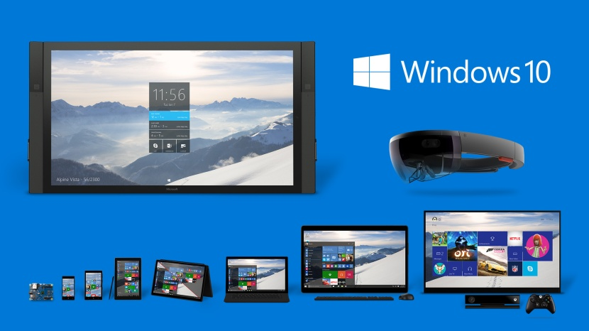 Win 10 product family